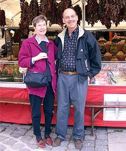 Dave DaveWitt und seine Frau Mary Jane