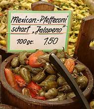 Eingelegte Jalapeño-Chilis