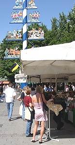 Viktualienmarkt, Maibaum