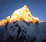 Sonnenuntergang am Mount Everest