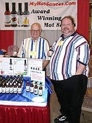Richard and Monty Fritts of MyHotSauces.com