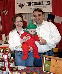 Dave, Reagan and Robin Craft (Pepperama)