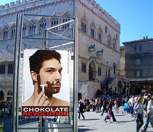 Chokolate Revolution in Perugia