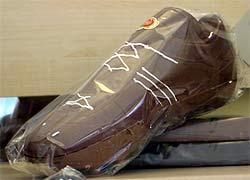 Schoko-Schuh
