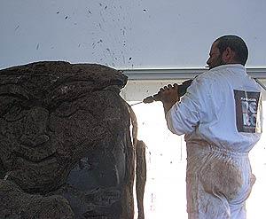 Schoko-Skulpturen