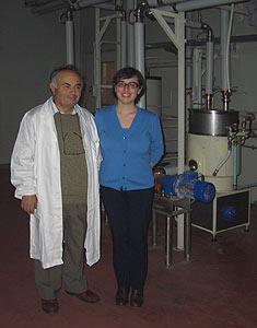 Antonio Zamporlini und Tochter Allessandra