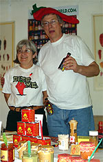 Die Pepperweltler bei Spicy's