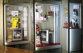 Pepperworld-Schaukästen in Spicy's Gewürzmuseum
