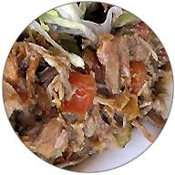 Machaca-Fleisch im Detail