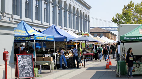 Farmers Market in San Francisco