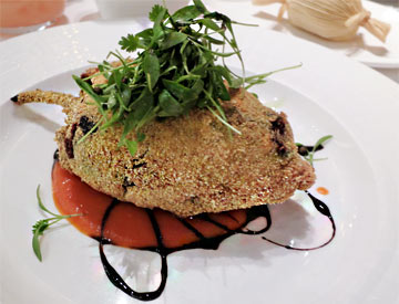 Cornmeal Crusted Chile Relleno