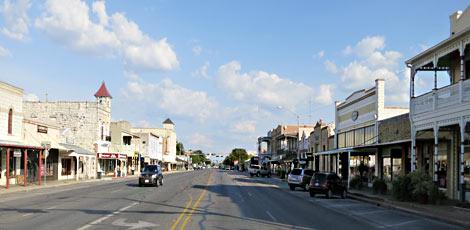 Fredericksburg, Main Street