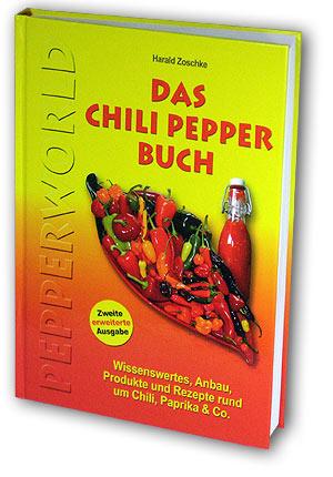 Das Chili Pepper Buch ist eines der bekannten deutschen Chili Bücher
