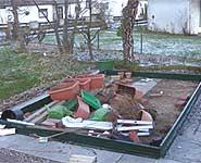 Vor okanartigen Sturmböen sind manche Chili Gewächshäuser nicht gewappnet.