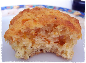 Vanille-Pfirsich-Muffins mit Habaneros