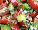 Herzhafter Jalapeno-Tomatensalat