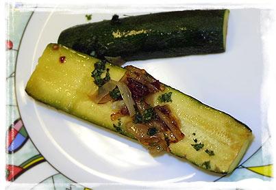 Marinierte Zucchini mit Chipotle