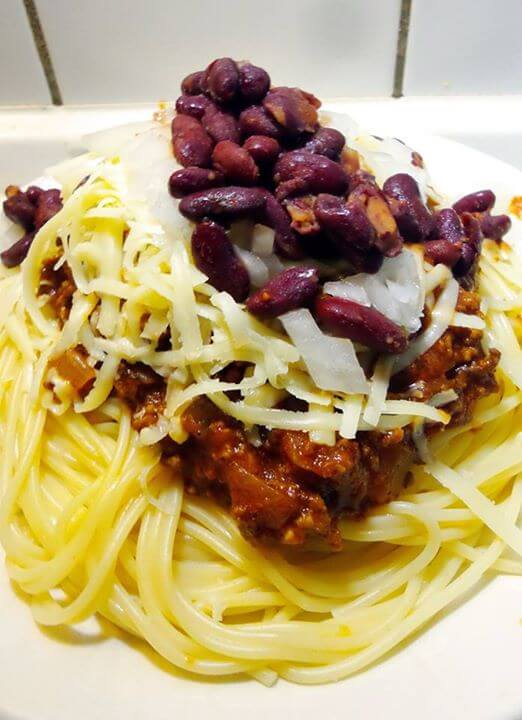 Cincinnati Chili 'Five-Way'