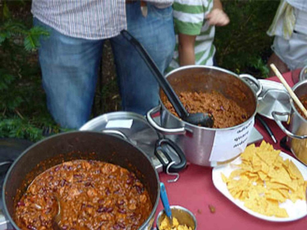 Chili con Carne Cook off in Amerika