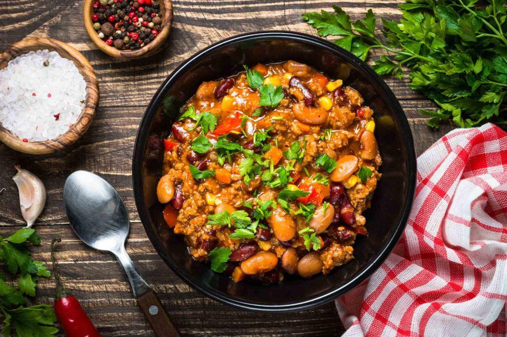Chili con Carne, ein feuriger Klassiker!