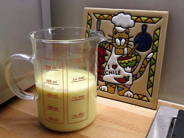 Pikante Vanillesauce für Bratäpfel