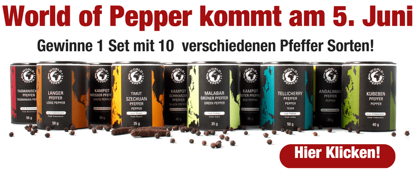 World of Pepper im Pepperworld Hot Shop
