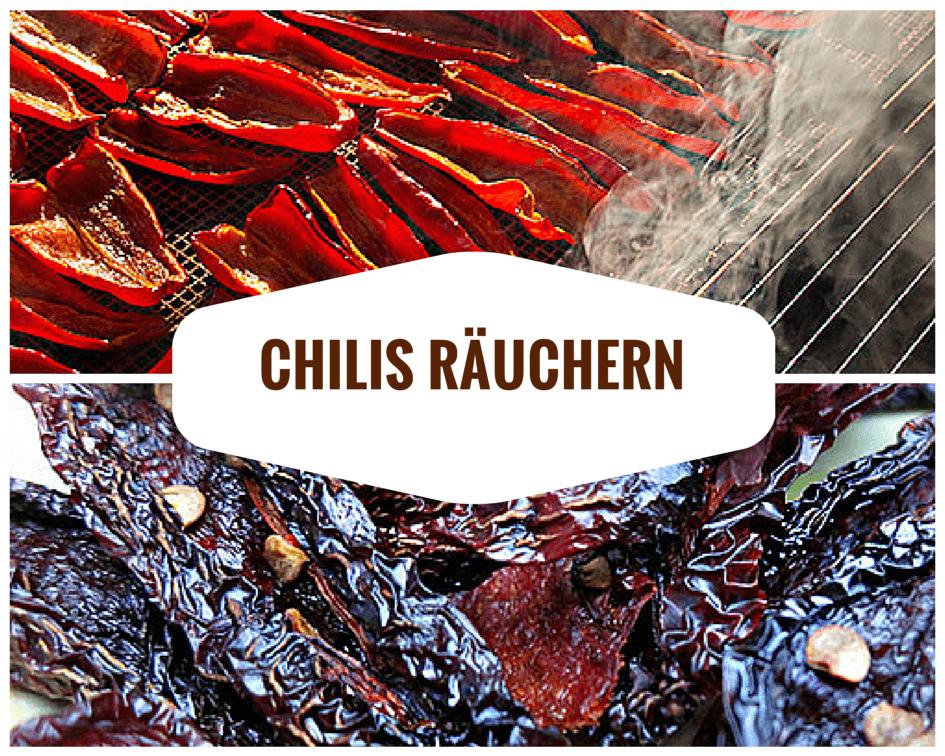 Chilis Räuchern
