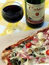 Zur leckeren Pizza ein leckerer Tropfen