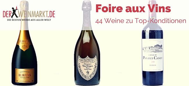 Foire aux Vins derWEINMARKT.de