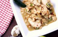 White Chicken Chili mit Quinoa