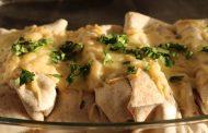 Enchiladas mit Mole Adobo