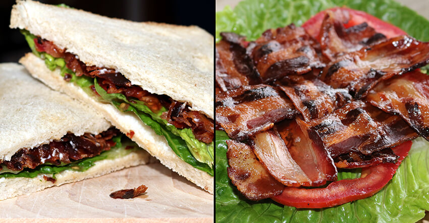 BLT Sandwiches vom Grill