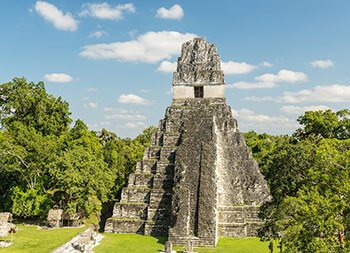 Pyramide im Land der Chilis