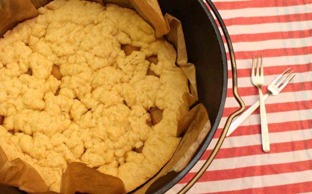 Dutch Oven Rezept: Apfelkuchen