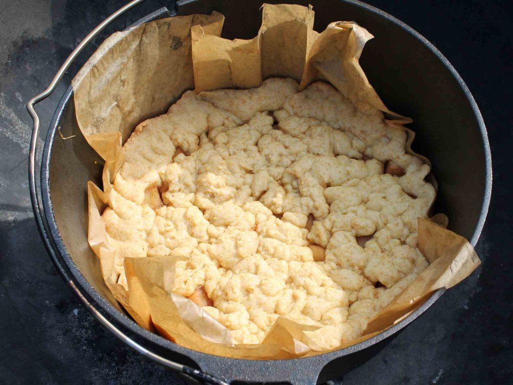 Rezept Dutch Oven: Apfelkuchen Schritt 3
