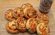 Pizzaschnecken Chipotle Style