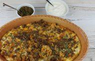 Afrikanischer Fleischauflauf mit Honig-Jalapeño Chutney