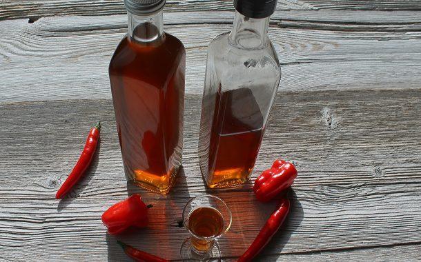 Würziger Chili - Schnaps